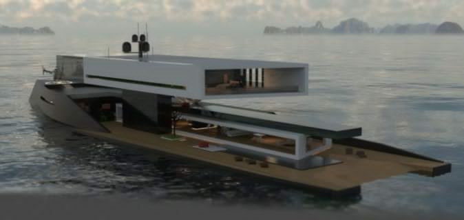 Antithesis, el  yate /  casa flotante