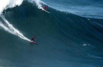 El torneo de surf con las olas más grandes del mundo