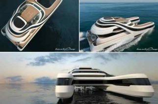 El yate perfecto para los millonarios chinos