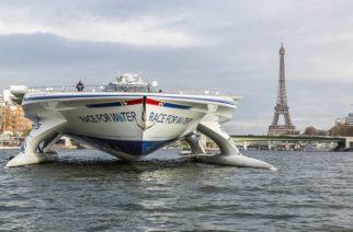 Race for Water. Navega alrededor de mundo para luchar contra desechos plásticos