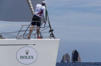 Rolex Capri Sailing Week: 100 barcos en el inicio