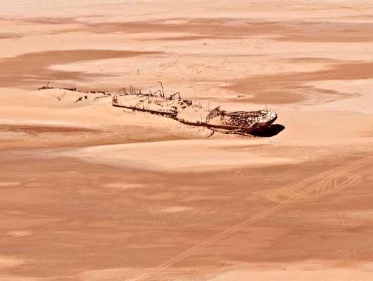 naufragios de Namibia